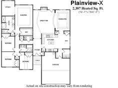 Single Story Open Concept Floor Plans Open Floor Plan For Ranch Style Homes Bill Beazley Floor