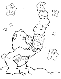 care bear coloring pages coloring pages crafty 80 u0027s care