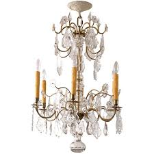 Victorian Chandelier For Sale 19th Century Antique Rococo Revival Arm Gas Chandelier For Sale