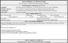 Da Form 4856 Initial Counseling Fillable Chummilati23 S Soup