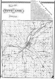 County Map Of Indiana Tippecanoe County Inpcrp