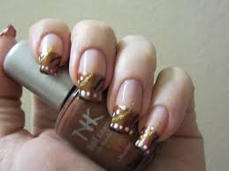 fall colors abstract nail design youtube