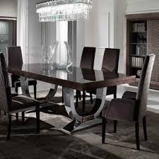 dinning black dining table glass top dining table expandable