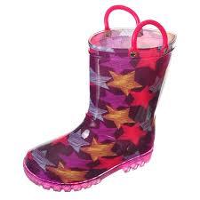 light up rain boots girls starstreak light up rain boots sizes 5 10