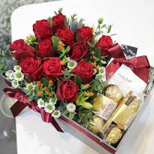 flower delivery reviews roses and chocolates box flower delivery south korea 320 5