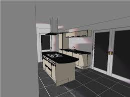 black granite countertop storage double door furniture cabinet