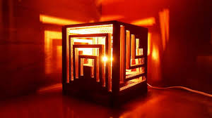 Crazy Lamps by How To Make A Multifaceted Cardboard Lamp Diy Home Tutorial