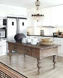 rustic kitchen island table rustic kitchen island table medium size of kitchen island table