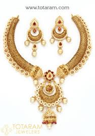 gold necklace sets images 22k gold necklace sets indian gold jewelry from totaram jewelers jpg