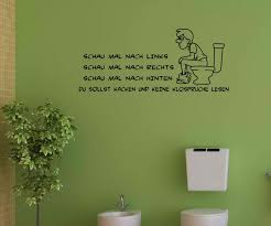 klo sprüche wandtattoo wc toilette spruch keine klosprüche lesen sticker