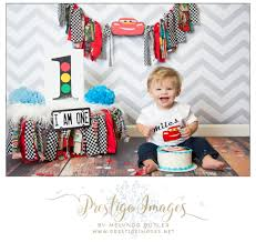 lightening mcqueen cars first birthday smash cake session first