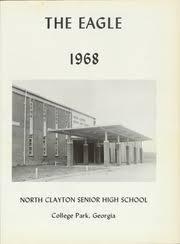 clayton high school yearbook clayton high school eagle yearbook college park ga