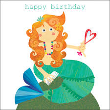 mermaid birthday card birthday card some cool collection little