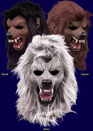 Werewolf Halloween Costumes Specter Werewolf Halloween Costume Latex Fur Mask Scary Silver