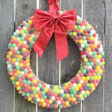 candy wreath colorful candy wreaths candy wreaths