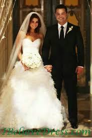 Celebrity Wedding Dresses Gorgeous Joanna Garcia Celebrity Princess Wedding Bridal Gowns