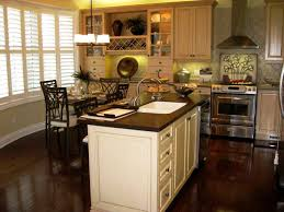light kitchen cabinets dark counters impressive home design