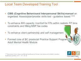 Comfort Care Family Practice Improving Quality Of Mental Healthcare By Family Physicians In Bc