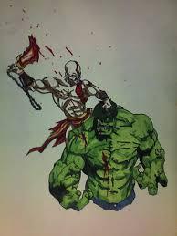 kratos incredible hulk nebiru deviantart