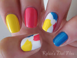 30 best and cute multicolor nail art designs 2015