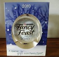 2010 fancy feast ornament ebay