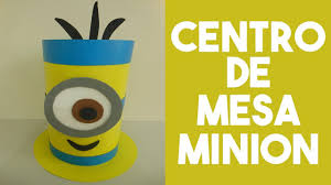 minion centerpieces diy tutorial centro de mesa minion centerpiece minion