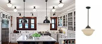 victorian kitchen lighting chicago kitchen features deep bowl schoolhouse pendants blog