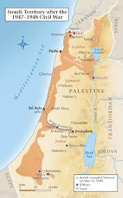 A New Map Of Jewish by Lashing Back Israel U0027s 1947 1948 Civil War Historynet