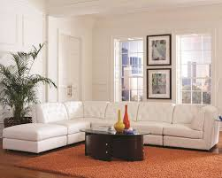 Modular Sofa Bed Bonded Leather Modular Sectional Sofa Store Chicago