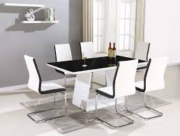 kitchen classy glass table dining round glass dining table for 6