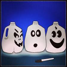 Halloween Decorations Using Milk Jugs - milk jug halloween decorations green planet 4 kids