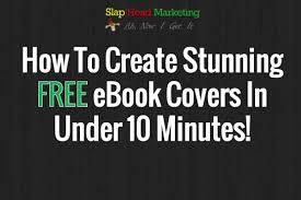 how to create stunning free ebook covers in under 10 minutes youtube
