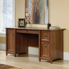 Computer Desk With Drawers Three Posts Lamantia Computer Desk Reviews Wayfair