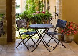 small patio table with two chairs amazon com rst brands bistro patio furniture 3 piece outdoor