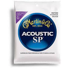 martin msp4050 sp phosphor bronze custom light acoustic guitar