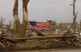 How To Dispose Of An American Flag When Torn National Guard Cleaning Up Devastated Kansas Town U003e U S Air Force