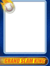 best photos of trading card templates trading card template