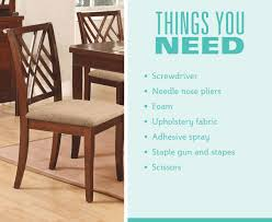 How To Upholster Dining Room Chairs by Decorating How To Upholster A Chair For Formal Dining Room With