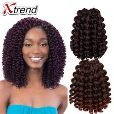 crochet braiding hair for sale xtrend hair hot sale jumpy wand curl twist janet crochet braids 8