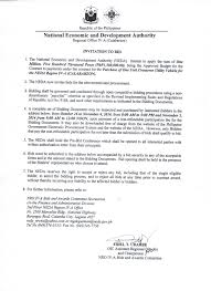authorization letter ph we must be aware page 3 be informed be warned be aware invitation to bid