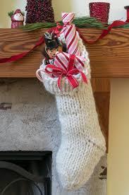 knitting pattern for christmas stocking free chunky knit christmas stocking pattern nourish and nestle