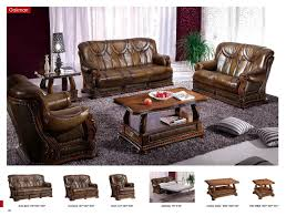 living set oakman leather classic 3 pcs sets living room furniture