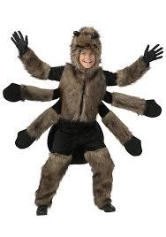 amazon com child furry spider costume clothing