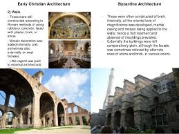 Difference Between Structural And Decorative Design Comparison Between Early Christian And Byzantine Architecture