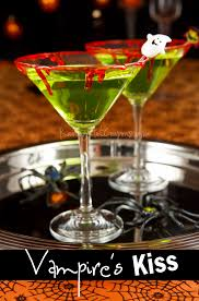 martini eyeball malibu drink kiss recipes and halloween parties
