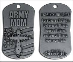 ranger joes sells shields of strength dog tags also sells army