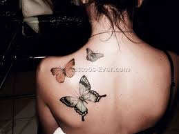 butterfly tattoos on back 3 best tattoos ever