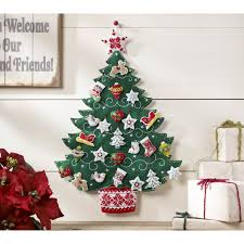 Home Decor Tree by Bucilla Seasonal Felt Home Decor Advent Calendar Kits