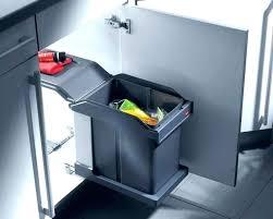 poubelle de cuisine sous evier poubelle encastrable sous evier poubelle cuisine coulissante sous