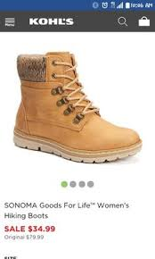 womens hiking boots sale sonoma goods for s hiking boots gimme